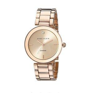 Ann Klein Rose Gold Watch